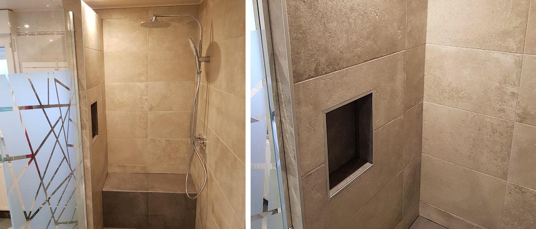 Illustration Installation d'une douche carrelée Strasbourg