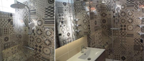 Illustration Rénovation d'une douche à la Strasbourg Robertsau