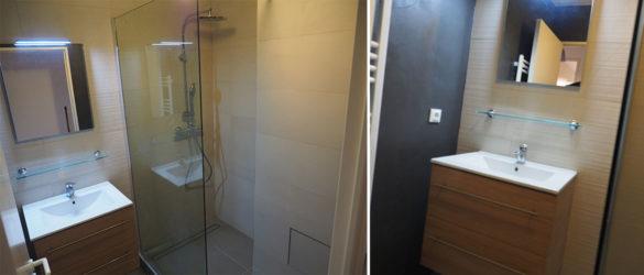 Illustration Rénovation intégrale d'une salle de bain à Strasbourg