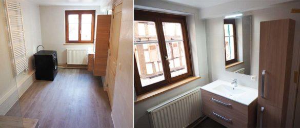 Illustration Rénovation complète salle de bain à Bouxwiller
