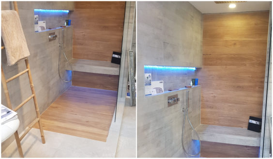 Illustration Exposition salle de bain pour la foire européenne de Strasbourg de 2018