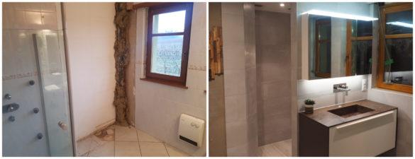 Illustration Rénovation d'une salle de bain à Obernai