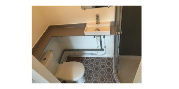 Création d\'une salle d\'eau dans une chambre à Strasbourg ...