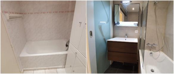 Illustration Rénovation d'une salle de bain à Schiltigheim près de Strasbourg