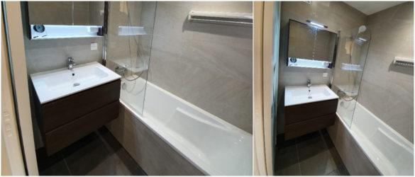 Illustration Rénovation d'une salle de bain à Schiltigheim