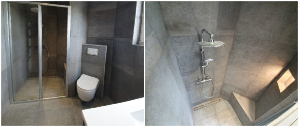 Illustration Rénovation de salle de bain et de WC à Weyersheim près de Brumath