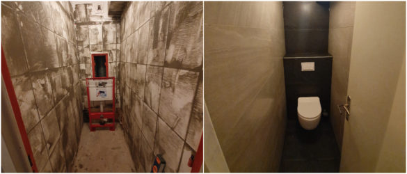 Illustration Rénovation de WC à Strasbourg 67