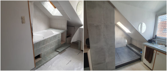 Illustration Rénovation de douche à Schiltigheim