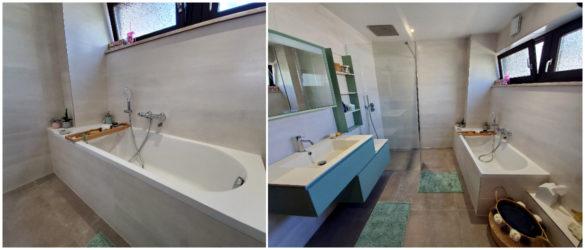 Illustration Rénovation de salle de bain complète à Sundheim