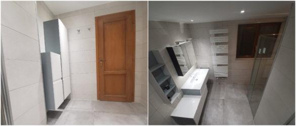 Illustration Rénovation de salle de bain à Schirrhoffen près de Haguenau