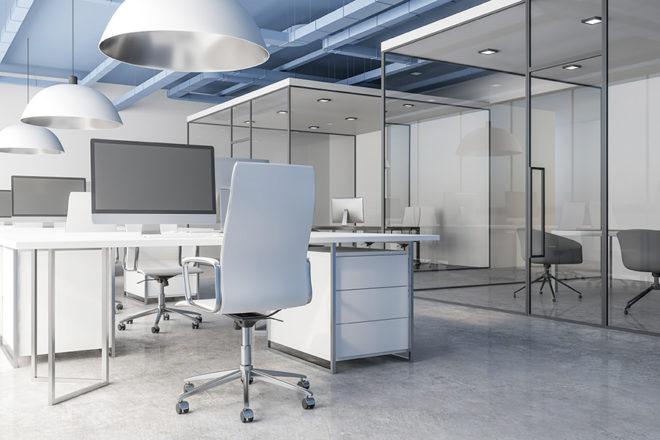 Aménagement intérieur de bureau à l'espace européen de l'entreprise par eau et design