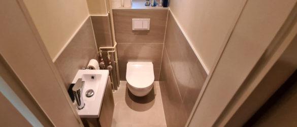 Illustration Douche et WC à Strasbourg