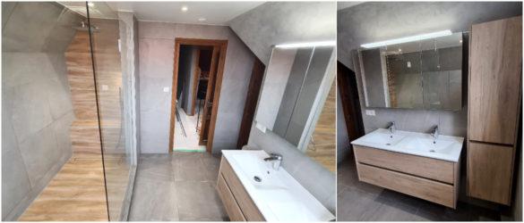 Illustration Rénovation de salle de bain à Molsheim