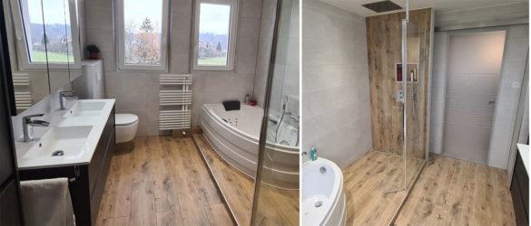 Illustration Rénovation d'une salle de bain dans le Bas-Rhin